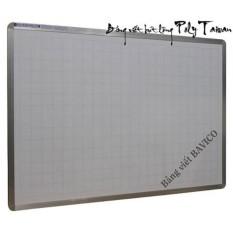 Bảng viết bút lông Poly Taiwan BAVICO BVC0124 KT 80x120cm(Trắng)