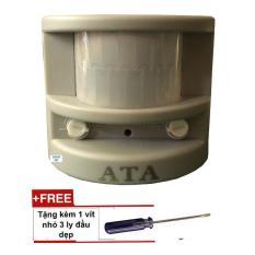 Chuông báo động hồng ngoại chống trộm 1 kiểu chuông lớn ATA AT-01C ( kèm vít nhỏ)
