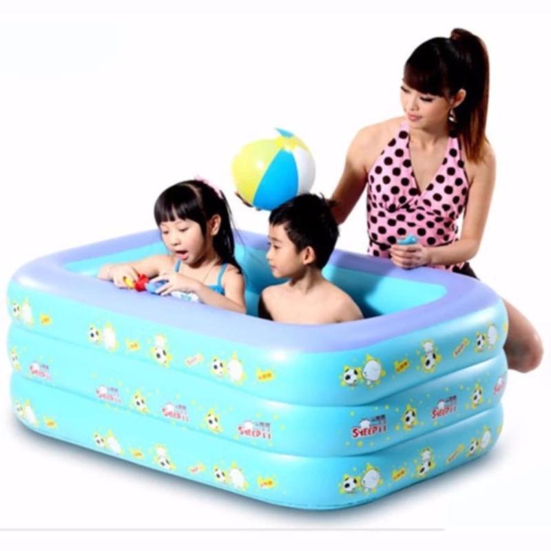 Bể bơi 3 tầng cho trẻ em 2017