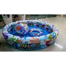 Bể Bơi Kute Cho Bé 3 Chi Tiết Xinh Sắn Cho Bé