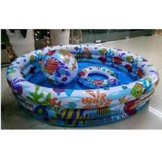 Bể bơi phao 3 tầng 3 chi tiết Intex 59469