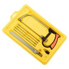 Befu 8 In 1 Metal Magic Saw Hacksaw Hand Diy Mini Tool Kits 6 Blades Model Tool