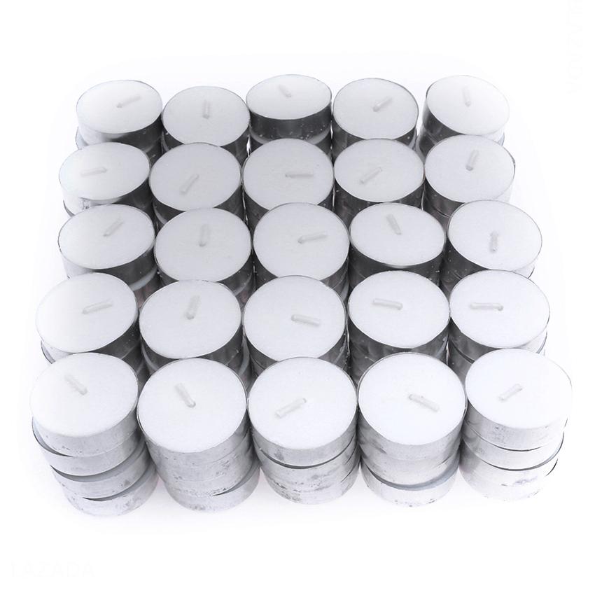 Giá Bịch 100 nến Tealight Miss Candle FtraMart (Trắng)
