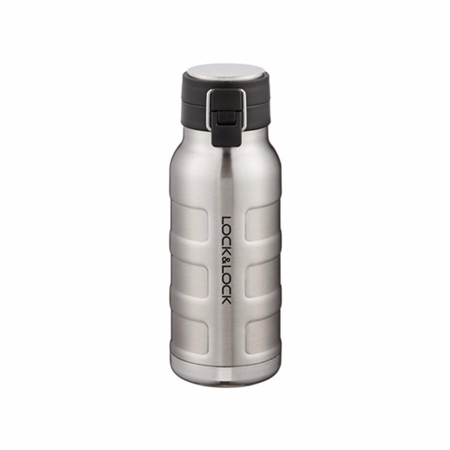 Giá Bình giữ nhiệt bằng thép không gỉ Lock&Lock Bumper Bottle LHC4142SLV 650ml – Màu bạc