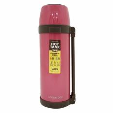 Bình giữ nhiệt City Vacuum Lock&Lock (Olympic Beijing) 1.6L – màu hồng