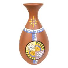 Bình hoa trang trí Bát tràng NNGS 166 (Nâu)