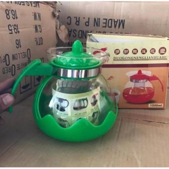 Bình lọc trà - coffee thủy tinh