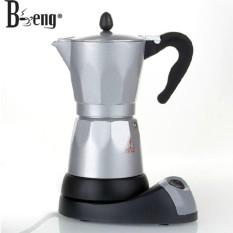 Bình pha cà phê bằng điện Moka Espress 6 cup