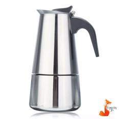 Bình pha cà phê Inox cao cấp của Ý hiệu Foxy (pha 2 ly) – BCP01
