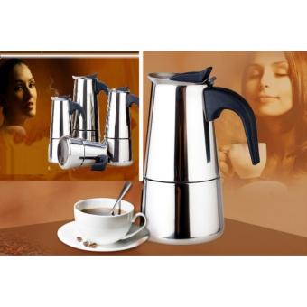 Bình pha cà phê Moka Espress 2 cup HB-002