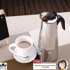 Bình pha cà phê Moka Espress 4 cup INNOX Cao Cấp – kingshop