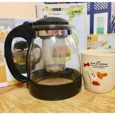 [HÀNG CAO CẤP] Bình pha trà có lõi lọc cao cấp Home Wares No8170 (Đen)