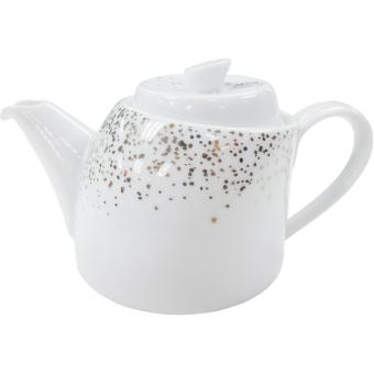 Bình trà sứ thấp Legle 11800014 (Trắng)