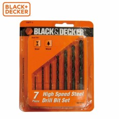 BLACK+DECKER - 15077G Hộp mũi khoan kim loại 7 chi tiết