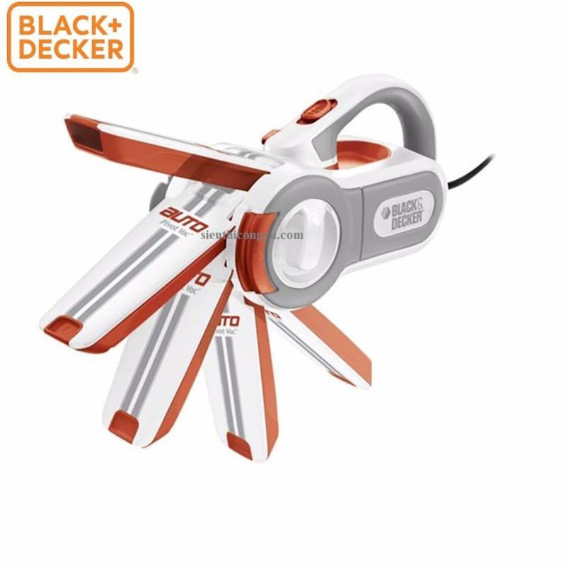 BLACK+DECKER - PAV1201 MÁY HÚT BỤI XE HƠI  DÙNG PIN 12V