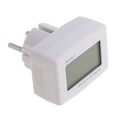 MÀN HÌNH LCD màu xanh dương Đồng Hồ Volt Kế AC 80-300 v Cho 110 v 120 v 220 v 230 v 240 v EU Phong Cách Cắm (Quốc Tế)
