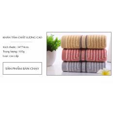 Bộ 03 khăn mặt sợi tre mềm mịn mát siêu thấm chất lượng cao