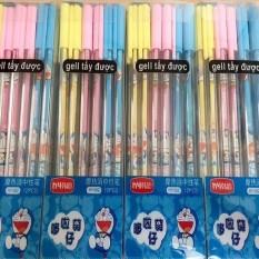Bộ 06 cây bút bi xóa được thần kỳ mực tím