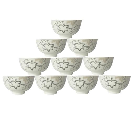 Bộ 10 bát ăn cơm BCD05