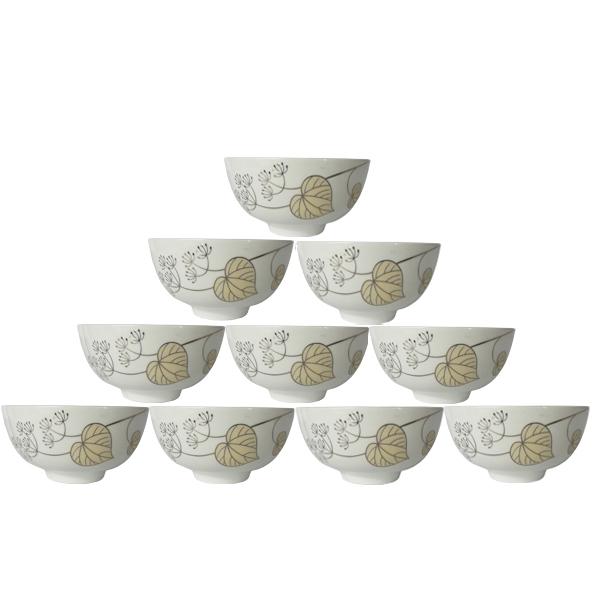Bộ 10 bát ăn cơm BCD06