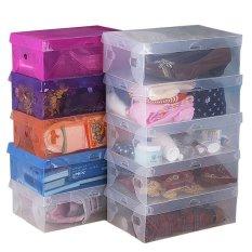Bộ 10 hộp đựng giày dép Huy Tuấn Shoe Box