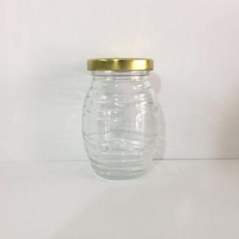Bộ 10 Hũ Thủy Tinh Đựng Thực Phẩm Nắp Thiếc Hình Chú Ong