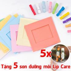 Bộ 10 khung ảnh treo tường Hàn Quốc tặng 5 son dưỡng môi Lip Care