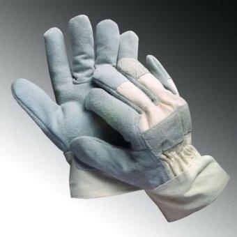 Bộ 10Đôi Găng tay vải da mài cắt - loại dày
