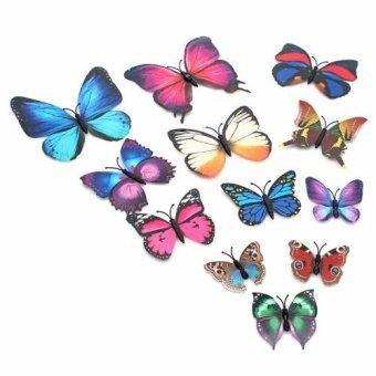 Bộ 12 bướm 3D có gắn tủ lạnh có nam châm - 8316487 , NO007HLAA1V41EVNAMZ-3148091 , 224_NO007HLAA1V41EVNAMZ-3148091 , 45000 , Bo-12-buom-3D-co-gan-tu-lanh-co-nam-cham-224_NO007HLAA1V41EVNAMZ-3148091 , lazada.vn , Bộ 12 bướm 3D có gắn tủ lạnh có nam châm