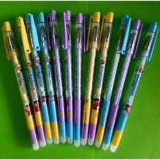 Bộ 12 cây bút bi xóa được thần kỳ mực tím