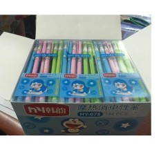 Bộ 12 cây bút bi xóa được thần kỳ mực tím_1