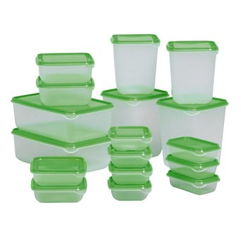 Bộ 17 hộp đựng thực phẩm cao cấp - BQ15