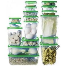 Bộ 17 hộp đựng thực phẩm an toàn và tiện dụng