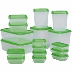 Bộ 17 hộp nhựa