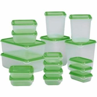Bộ 17 hộp nhựa thông minh đựng thực phẩm an toàn để tủ lạnh (Hàngloại 1)