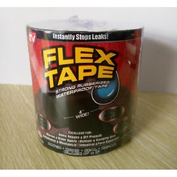 Hình ảnh Bộ 2 Băng keo chịu nước, chống thấm siêu dính Flex Tape - Dính cực kỳ chắc, chịu nước, chống thấm hoàn hảo