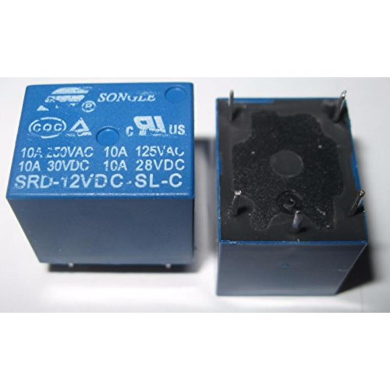 Bảng giá Bộ 2 Chiếc Relay 12V Songle SRD 5Chân 10A