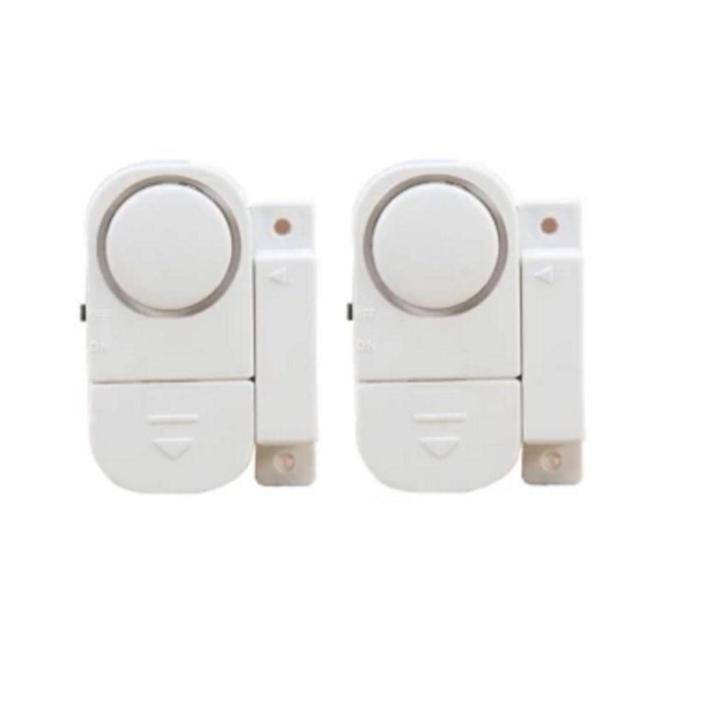 Bộ 2 chuông cửa cảm biến chống trộm tự báo động