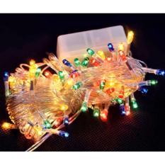 Combo 3 dây đèn Led nhấp nháy 7 màu trang trí Noel, Tết