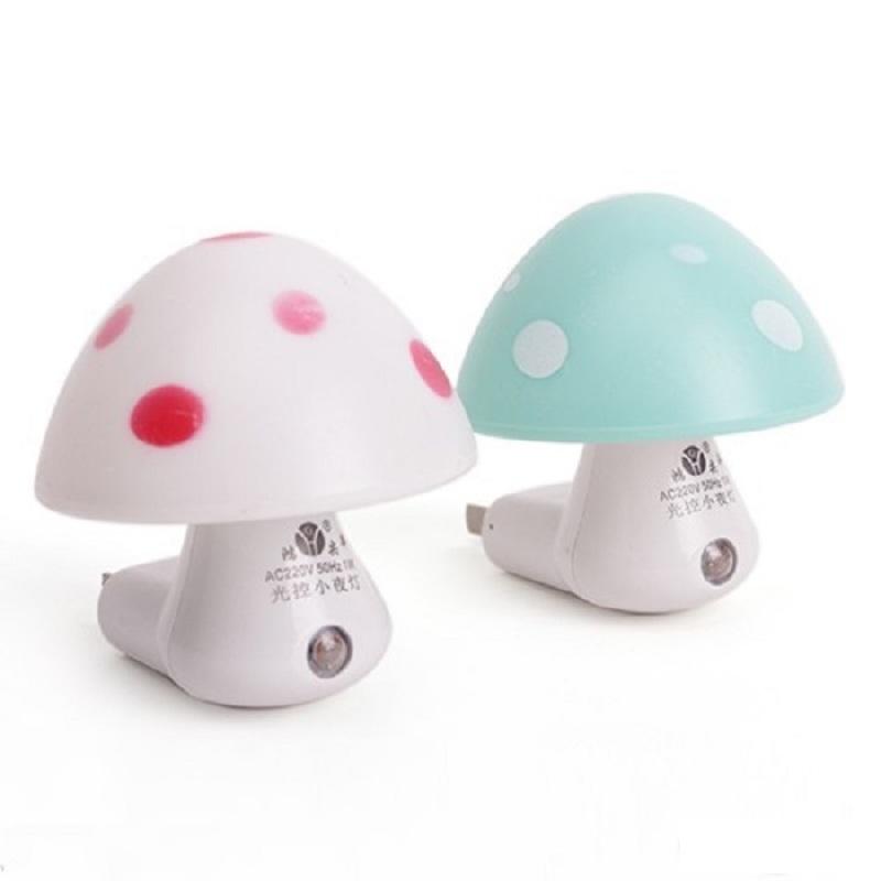 Bảng giá Mua Bộ 2 đèn ngủ tự động hình nấm