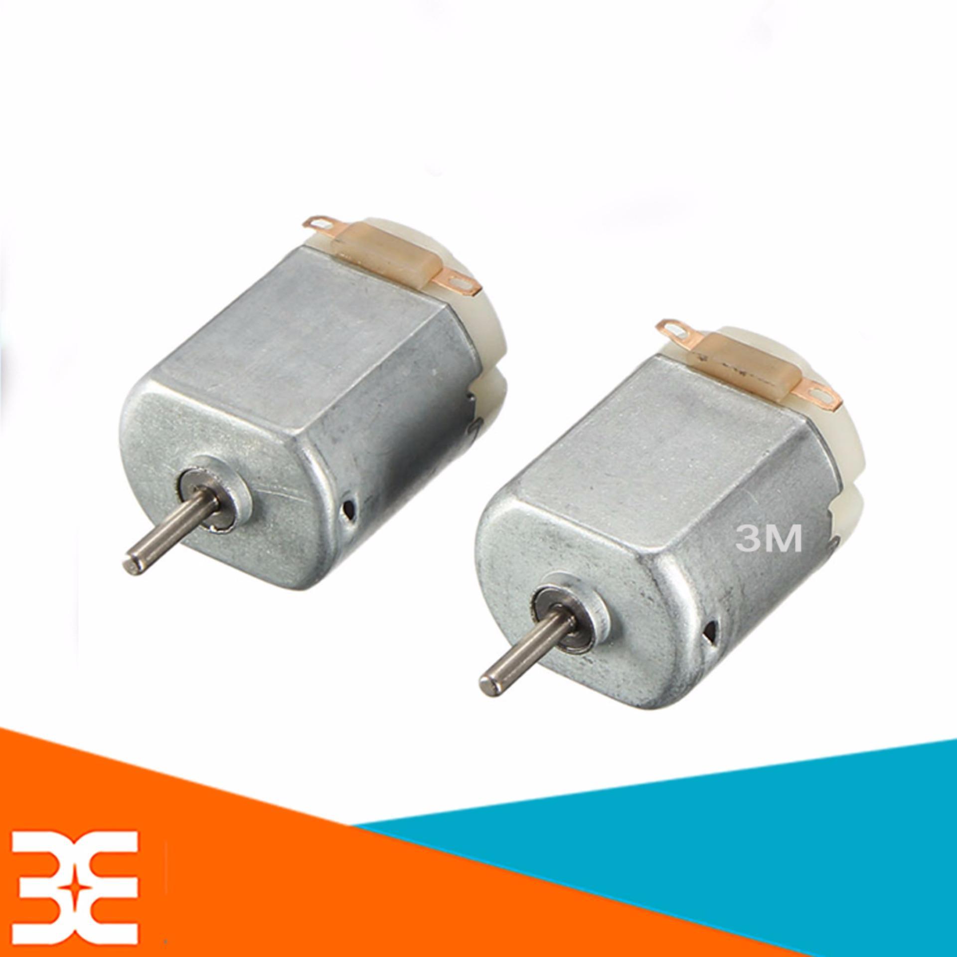 Bộ 2 Động Cơ Mini V1 3-9VDC ( Loại Vuông ), Chế xe mô hình, làm quạt cực Tít