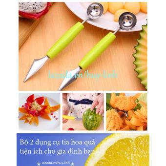 Bộ 2 dụng cụ tỉa hoa quả tiện ích cho gia đình bạn