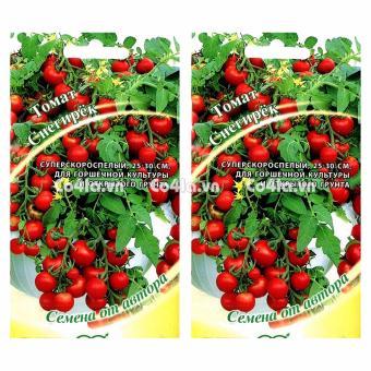 Bộ 2 gói Hạt giống Cà chua đỏ Bon Sai (RU)