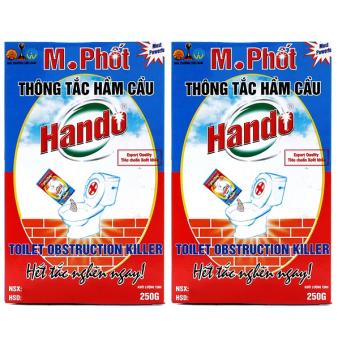 Bộ 2 hộp bột thông tắc hầm cầu M.Phốt xuất khẩu 250Gr CS500 - 10247299 , HA792HLAA1P0ZWVNAMZ-2821247 , 224_HA792HLAA1P0ZWVNAMZ-2821247 , 169000 , Bo-2-hop-bot-thong-tac-ham-cau-M.Phot-xuat-khau-250Gr-CS500-224_HA792HLAA1P0ZWVNAMZ-2821247 , lazada.vn , Bộ 2 hộp bột thông tắc hầm cầu M.Phốt xuất khẩu 250Gr CS500