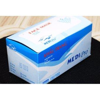 Bộ 2 Hộp Khẩu trang y tếMedi Pro(Aqua)