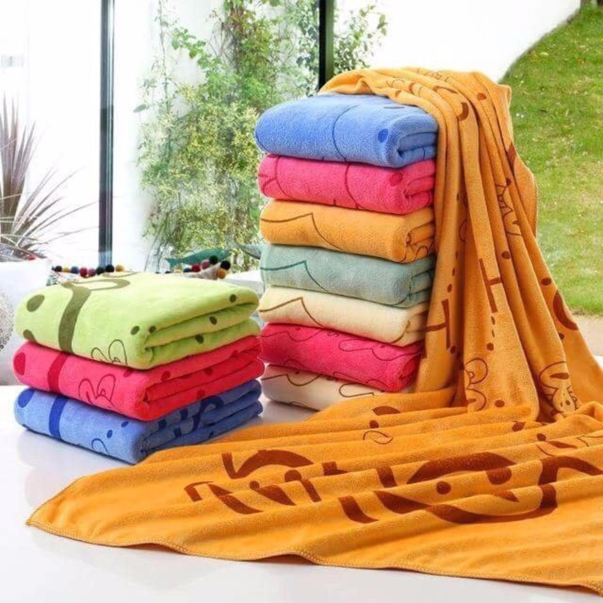 Cập Nhật Giá Bộ 2 khăn tắm cao cấp Thái Lan (KIBA)
