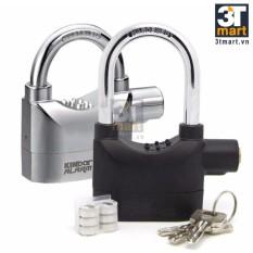 Bộ 2 khóa chống trộm Kinbar KB110 DBA (Đen bạc)