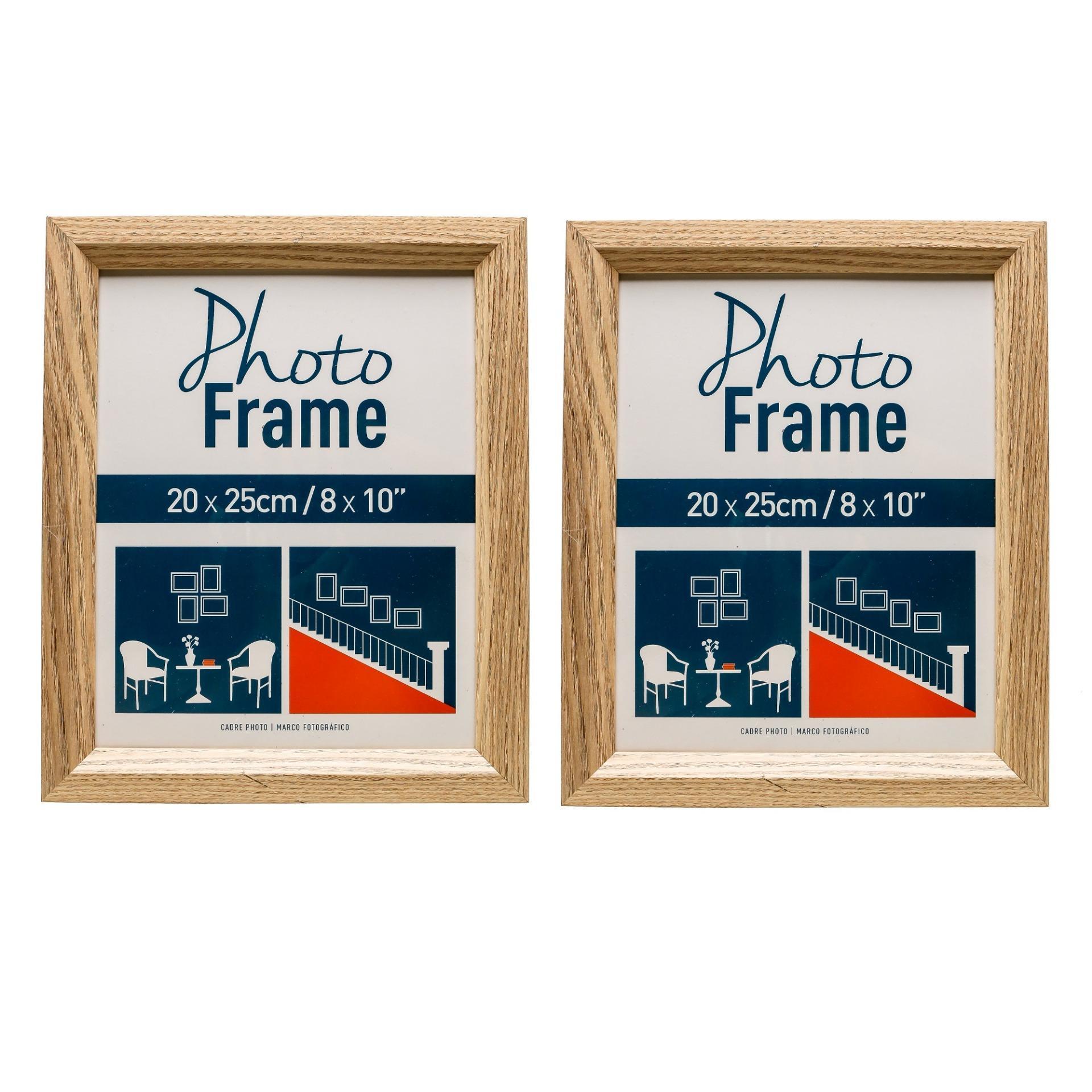 So Sánh Giá Bộ 2 Khung ảnh gỗ sồi 20×25 cm UBL GF0167