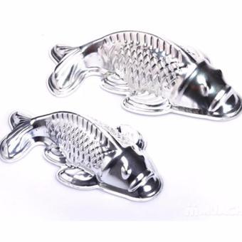 Bộ 2 khuôn hình cá chép lớn và nhỏ Dragon