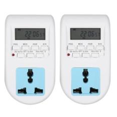 Bộ 2 ổ cắm hẹn giờ điện tử AL-06 220v -10A